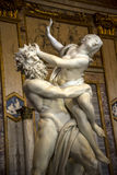 Sculpture by Gian Lorenzo Bernini in the Borghese Collection in Villa Borghese Rome Italy. The Borghese Collection is a collection of Roman sculptures, old Stock Photography