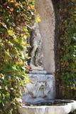 Sculpture in Giusti Garden, Verona Stock Images