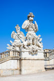 Sculpture at the Gloriette in Schoenbrunn Palace Garden Stock Image