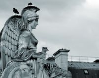 Sculpture of the goddess royalty free stock images