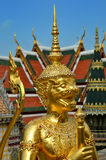 Golden guard in bangkok Stock Image