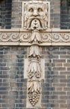 Sculpture gothique en mur Photos libres de droits