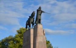 Sculpture of Grand Duke Gediminas Royalty Free Stock Image