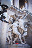 Sculpture on the Grand Opera Stock Photography