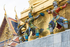 Sculpture at Grand Palace Stock Photography