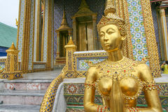 A sculpture in Grand Royal Palace in Bangkok, Thailand Royalty Free Stock Images