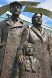 """Sculpture Grecki Immigrant† Obraz Royalty Free"