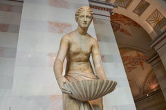 The sculpture of the Greek muses Royalty Free Stock Photography