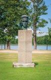 Sculpture in the Grutas park near Druskininkai city. Lithuania. Stock Images
