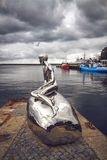 Sculpture Han dans Elsinore, Danemark Photographie stock libre de droits