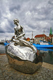 Sculpture Han dans Elsinore, Danemark Photographie stock