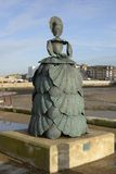 Sculpture on harbour side. Margate. Kent. England Royalty Free Stock Photography
