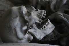 Sculpture, Head, Bone, Stone Carving royalty free stock photography