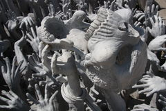 Sculpture of Hell Stock Photos