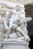 Sculpture of Hercules near the Hofburg Palace in Vienna, Austria Royalty Free Stock Image