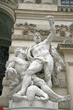 Sculpture of Hercules near the Hofburg Palace in Vienna, Austria Stock Image
