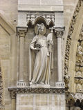 Sculpture in high relief, Cathedrale Notre Dame Stock Photos