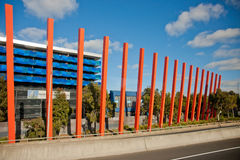 The sculpture of highway. The modern sculpture of highway in Australia Stock Photos