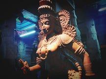 Sculpture in Hindu Temple Meenakshi Royalty Free Stock Photography