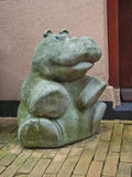 Sculpture hippo in the Dutch city of Gorinchem. Royalty Free Stock Photography