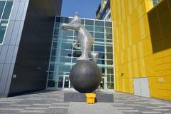 Sculpture I'am ici ! photos libres de droits