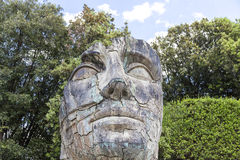 Sculpture by Igor Mitoraj in the Boboli Gardens in Florence, Italy Stock Photo