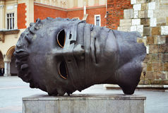 Sculpture by Igor Mitoraj Royalty Free Stock Images