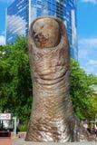 Sculpture of Igor Mitoraj in La Defense, Paris, France Stock Photography