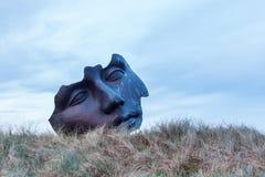 Sculpture of Igor Mitoraj in Scheveningen, The Hague, Netherlands Stock Image