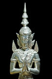 Sculpture illustrating Ramayana Stock Photography