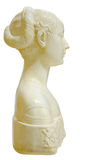 Sculpture imitating antiquity roman. Alabaster sculpture imitating antiquity roman. It is used to decorate gardens and parks Stock Images