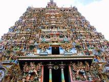 Sculpture indienne en temple Photos libres de droits