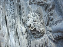 Sculpture indoue en Balinese Photo stock