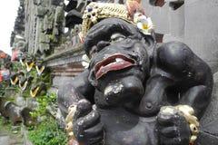 Sculpture indoue sur Bali Image libre de droits