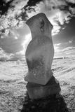 Sculpture Infrared Royalty Free Stock Photography