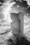 Sculpture Infrared Royalty Free Stock Images