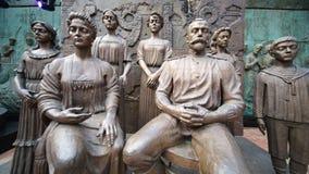 Sculpture Ipatievskya night by Zurab Tsereteli Royalty Free Stock Photography