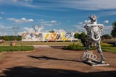 Sculpture Itaipu photos stock