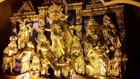 Sculpture. Its the sculpture of god mother of kali pratima royalty free stock photos
