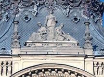 Sculpture of Izrael Poznanski. Royalty Free Stock Image