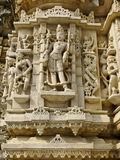 Sculpture in the Jain Temple, Udiapur India Stock Images