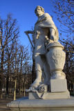 Sculpture in Jardin des Tuileries, Paris, France Stock Photography
