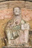 Sculpture of Jesus at the Cathedral of Trento Royalty Free Stock Photography