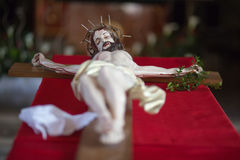 Sculpture of Jesus Christ. Royalty Free Stock Images