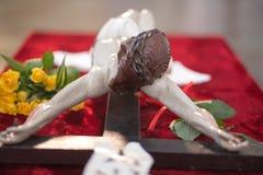 Sculpture of Jesus Christ. Stock Image