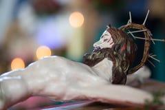 Sculpture of Jesus Christ. Royalty Free Stock Photo
