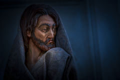 Sculpture of jesus Stock Image