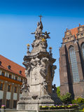 Sculpture of John of Nepomuk,  Wroclaw Royalty Free Stock Photo