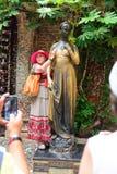 Sculpture of Juliet Stock Photo
