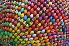 Sculpture in Kiev, which consists of 3000 eggs. royalty free stock photos